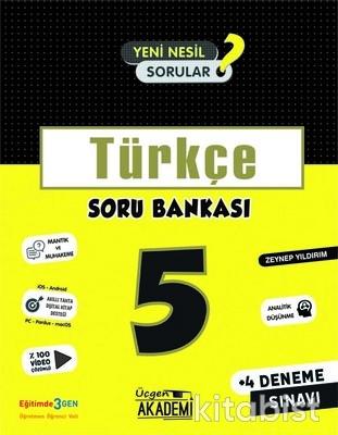 Üçgen Akademi - 5. Sınıf - TÜRKÇE - Soru Bankası