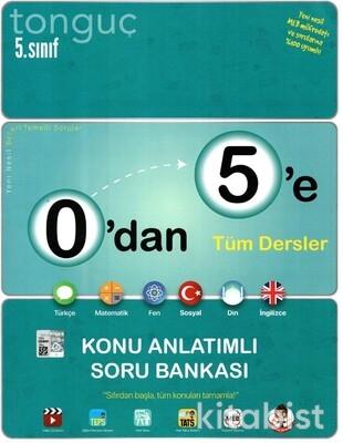 Tonguç Akademi - 5.Sınıf 0'dan 5'e Konu Anlatımlı Soru Bankası