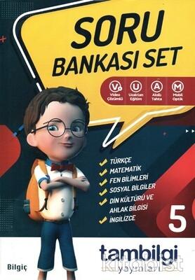 Tam Bilgi Yayınları - 5.Sınıf 6 lı Doping Soru Bankası Set