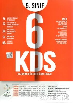 Deneme Bank Yayınları - 5.Sınıf Kazanım Değerlendirme 6'lı Deneme Sınavı