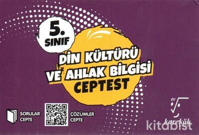 Karekök Yayınları - 5.Sınıf Din Kültürü ve Ahlak Bilgisi Cep Test