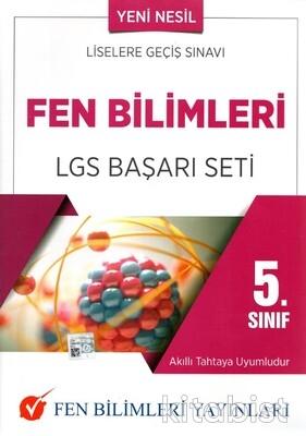 Fen Bilimleri Yayınları - 5.Sınıf Fen Bilimleri LGS Başarı Seti