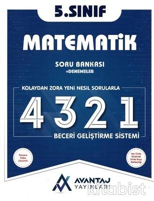 Avantaj Yayınları - 5.Sınıf Matematik Soru Bankası + Denemeler