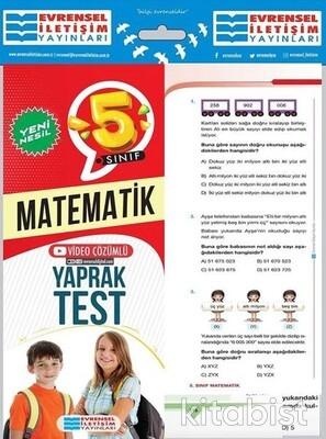 Evrensel Yayınları - 5.Sınıf Matematik Yaprak Test