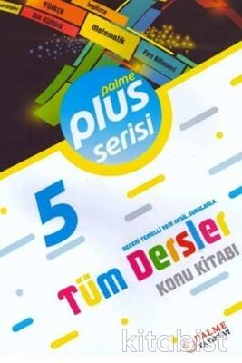 Palme Yayınları - 5.Sınıf Plus Serisi Tüm Dersler Konu Kitabı