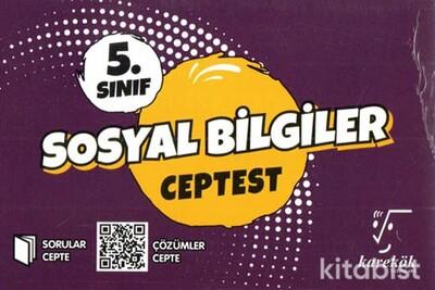 Karekök Yayınları - 5.Sınıf Sosyal Bilgiler Cep Test