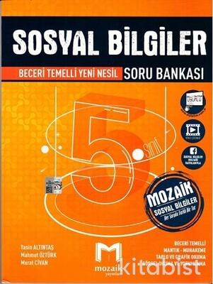 Mozaik Yayınları - 5.Sınıf Sosyal Bilgiler Soru Bankası