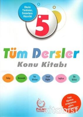 Palme Yayınları - 5.Sınıf Tüm Dersler Konu Kitabı