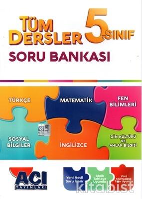 Açı Yayınları - 5.Sınıf Tüm Dersler Soru Bankası