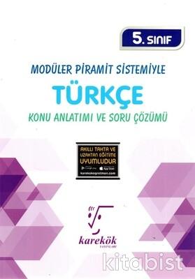 Karekök Yayınları - 5.Sınıf Türkçe Konu Anlatımı ve Soru Çözümü