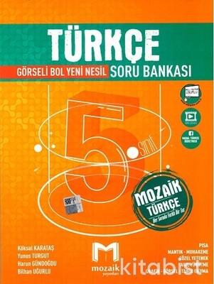 Mozaik Yayınları - 5.Sınıf Türkçe Soru Bankası
