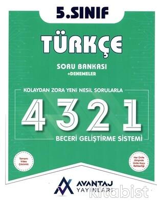 Avantaj Yayınları - 5.Sınıf Türkçe Soru Bankası + Denemeler