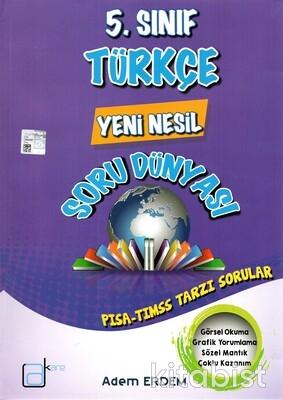 A Kare Yayınları - 5.Sınıf Türkçe Yeni Nesil Soru Dünyası
