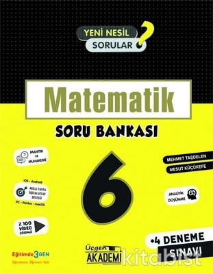 Üçgen Akademi - 6. Sınıf - MATEMATİK - Soru Bankası