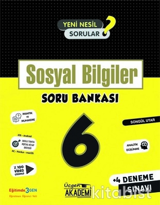 Üçgen Akademi - 6. Sınıf - SOSYAL BİLGİLER - Soru Bankası