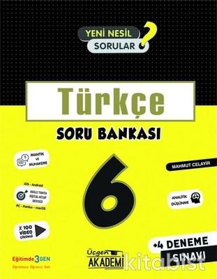 Üçgen Akademi - 6. Sınıf - TÜRKÇE - Soru Bankası