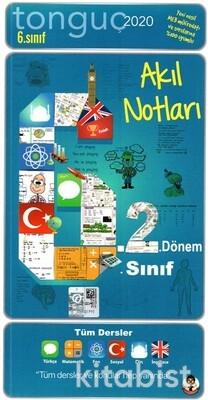 Tonguç Akademi - 6.Sınıf 2.Dönem Akıl Notları