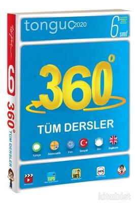 Tonguç Akademi - 6.Sınıf 360 Tüm Dersler Soru Bankası