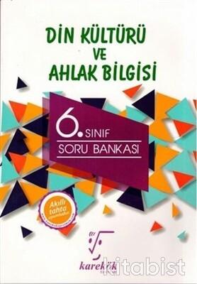 Karekök Yayınları - 6.Sınıf Din Kültürü ve Ahlak Bilgisi Soru Bankası