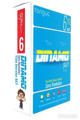 Tonguç Akademi - 6.Sınıf Dinamo Tüm Dersler Soru Bankası Set (5 Kitap Takım)