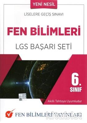 Fen Bilimleri Yayınları - 6.Sınıf Fen Bilimleri LGS Başarı Seti
