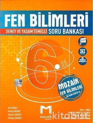 Mozaik Yayınları - 6.Sınıf Fen Bilimleri Soru Bankası