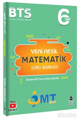 Yüksek Başarı Yayınları - 6.Sınıf İMT Matematik Yeni Nesil Soru Bankası