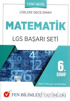 Fen Bilimleri Yayınları - 6.Sınıf Matematik LGS Başarı Seti