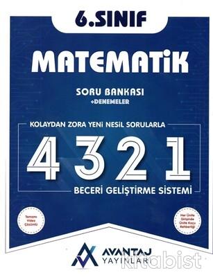 Avantaj Yayınları - 6.Sınıf Matematik Soru Bankası + Denemeler
