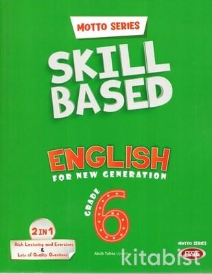 Data Yayınları - 6.Sınıf Motto Series Skill Based English