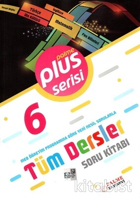 Palme Yayınları - 6.Sınıf Plus Serisi Tüm Dersler Soru Kitabı