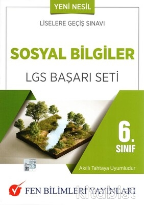 Fen Bilimleri Yayınları - 6.Sınıf Sosyal Bilgiler LGS Başarı Seti