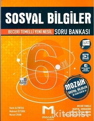 Mozaik Yayınları - 6.Sınıf Sosyal Bilgiler Soru Bankası