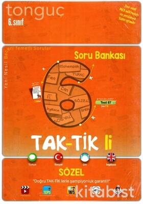 Tonguç Akademi - 6.Sınıf Taktikli Sözel Soru Bankası