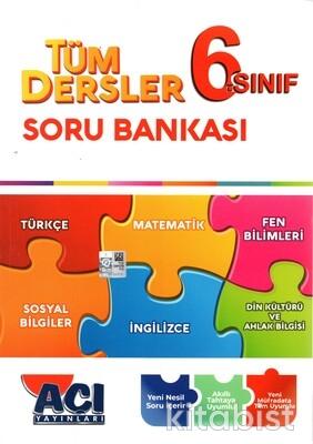 Açı Yayınları - 6.Sınıf Tüm Dersler Soru Bankası