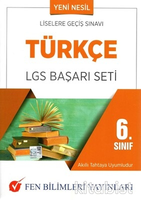 Fen Bilimleri Yayınları - 6.Sınıf Türkçe LGS Başarı Seti