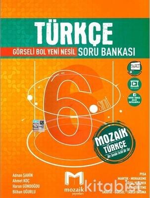 Mozaik Yayınları - 6.Sınıf Türkçe Soru Bankası