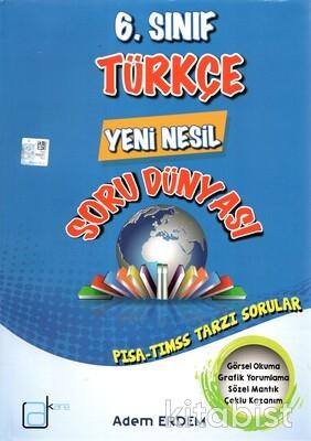 A Kare Yayınları - 6.Sınıf Türkçe Yeni Nesil Soru Dünyası