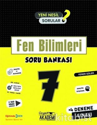 Üçgen Akademi - 7. Sınıf - FEN BİLİMLERİ - Soru Bankası