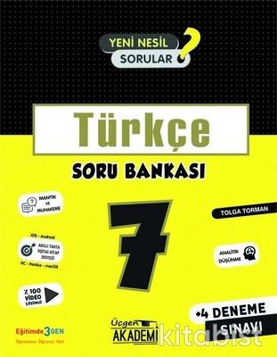 Üçgen Akademi - 7. Sınıf - TÜRKÇE - Soru Bankası