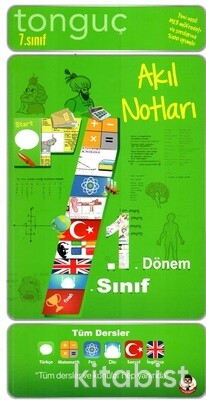 Tonguç Akademi - 7.Sınıf 1.Dönem Akıl Notları