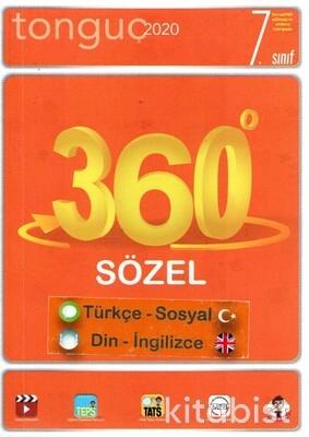 Tonguç Akademi - 7.Sınıf 360 Soru Bankası Sözel