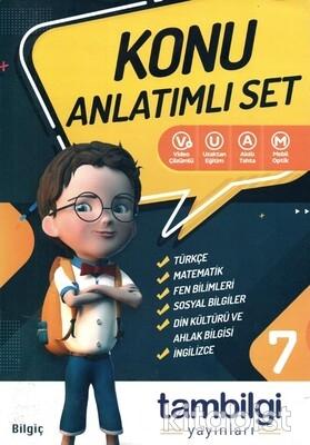 Tam Bilgi Yayınları - 7.Sınıf 6 lı Doping Konu Anlatımlı Set