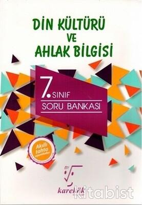Karekök Yayınları - 7.Sınıf Din Kültürü ve Ahlak Bilgisi Soru Bankası