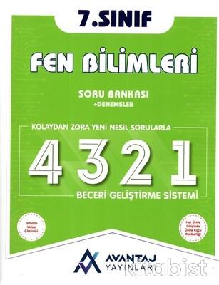 Avantaj Yayınları - 7.Sınıf Fen Bilimleri Soru Bankası + Denemeler