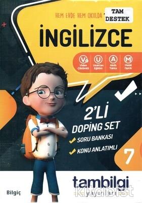 Tam Bilgi Yayınları - 7.Sınıf İngilizce 2 li Doping Set