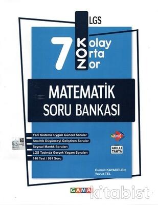 Gama Okul - 7.Sınıf Koz Matematik Soru Bankası