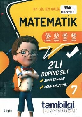 Tam Bilgi Yayınları - 7.Sınıf Matematik 2 li Doping Set