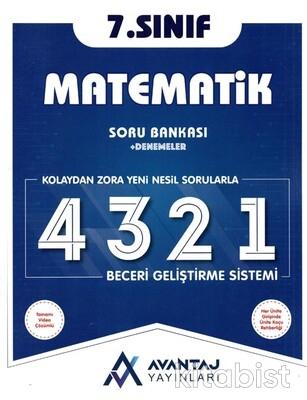 Avantaj Yayınları - 7.Sınıf Matematik Soru Bankası + Denemeler