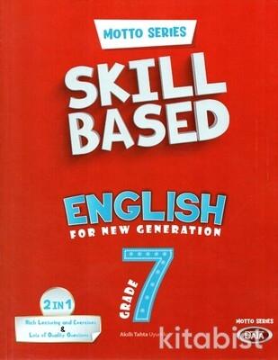 Data Yayınları - 7.Sınıf Motto Series Skill Based English